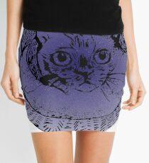 Tonkinese Cat Patronus Mini Skirt