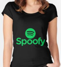 Game Grumps - Spoofy Women's Fitted Scoop T-Shirt