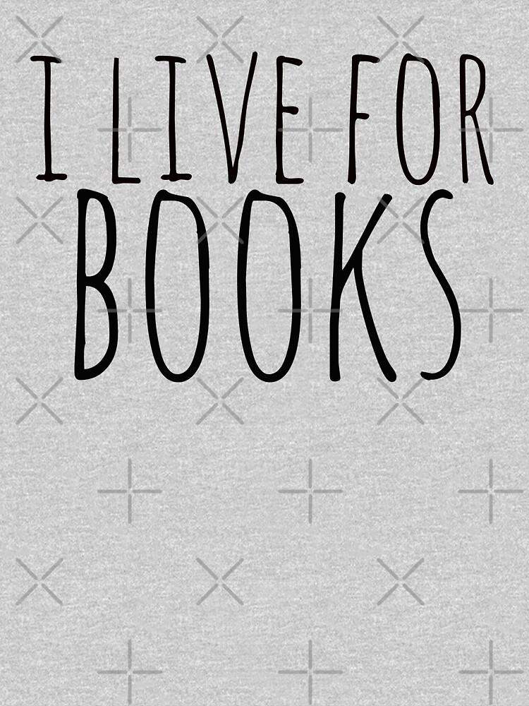 yo vivo por libros de FandomizedRose