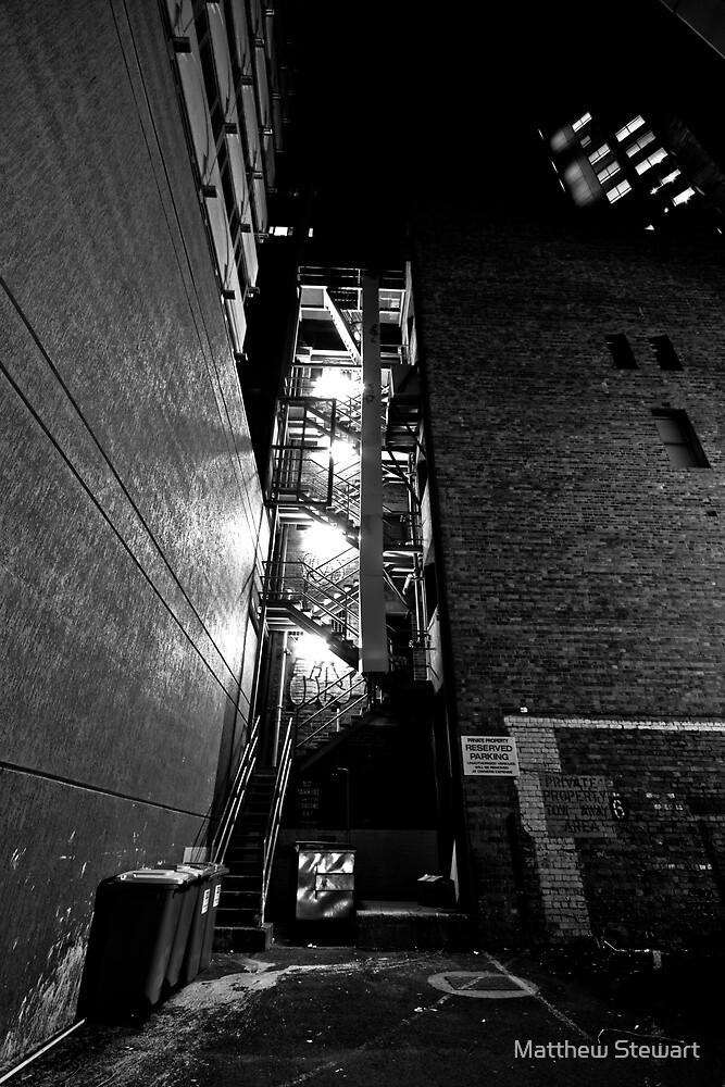 Down That Alley Somewhere by Matthew Stewart