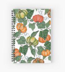 In the Pumpkin Patch Spiral Notebook