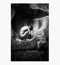 In Utero (Black and White) Photographic Print