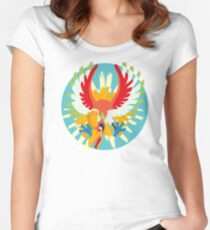 Ho-oh - 2nd Gen Women's Fitted Scoop T-Shirt