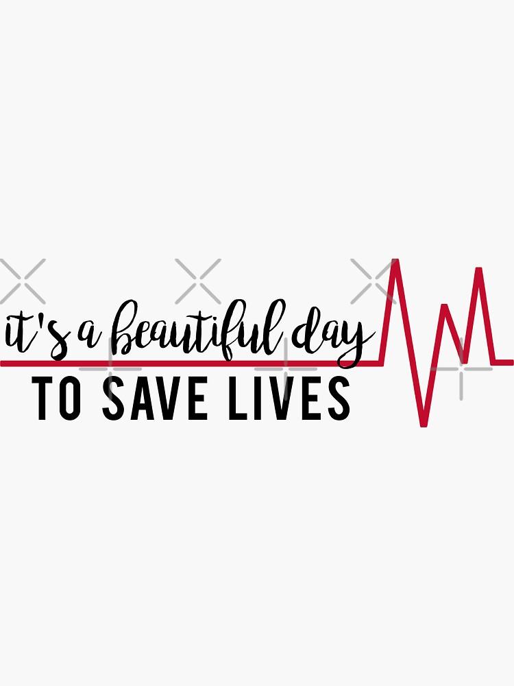 Es un hermoso día para salvar vidas de mynameisliana