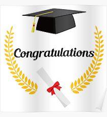 graduation congratulations posters redbubble