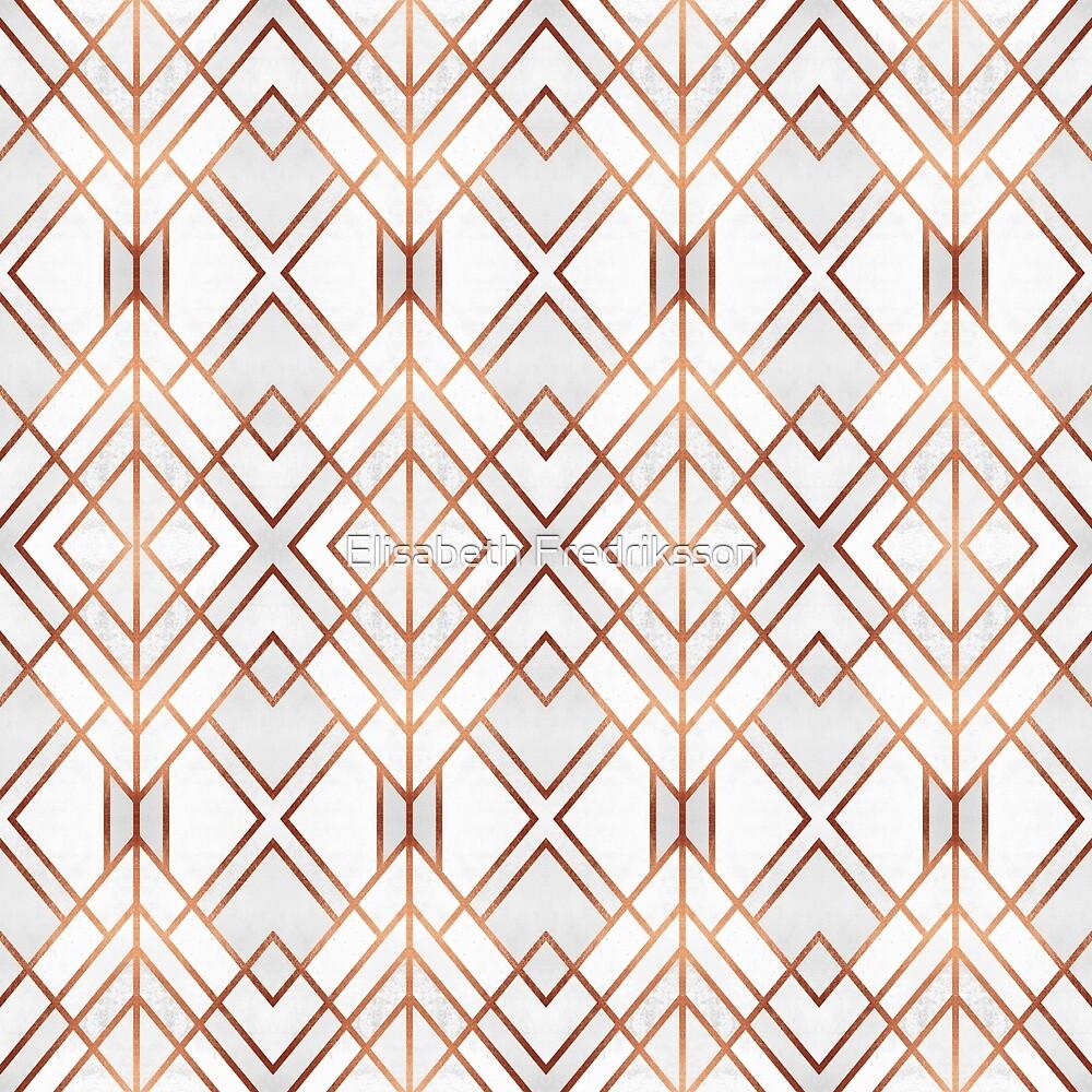 Copper Geo by Elisabeth Fredriksson