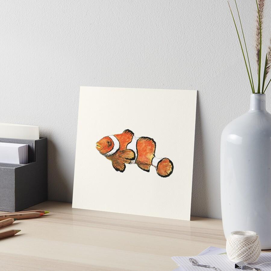 Clownfish by Dan Tabata