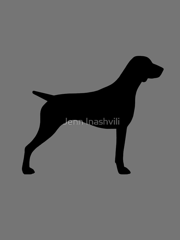German Shorthaired Pointer Silhouette(s) by ShortCoffee