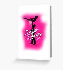Dirty Dancing logo Greeting Card