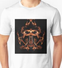 Silk Abstract Fantasy - Court of the Fire Faerie King T-Shirt