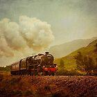 The Jacobite Steam Train by derekbeattie
