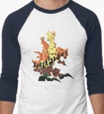 UNFINISHED RUIN Men's Baseball ¾ T-Shirt
