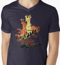 UNFINISHED RUIN Men's V-Neck T-Shirt