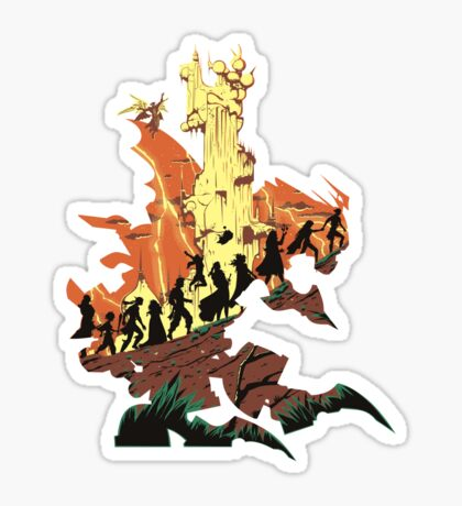 UNFINISHED RUIN Sticker