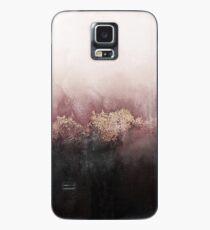 Rosa Himmel Hülle & Klebefolie für Samsung Galaxy