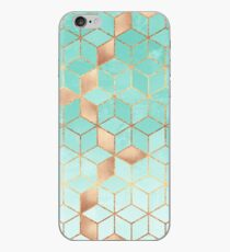 Soft Gradient Aquamarine iPhone Case