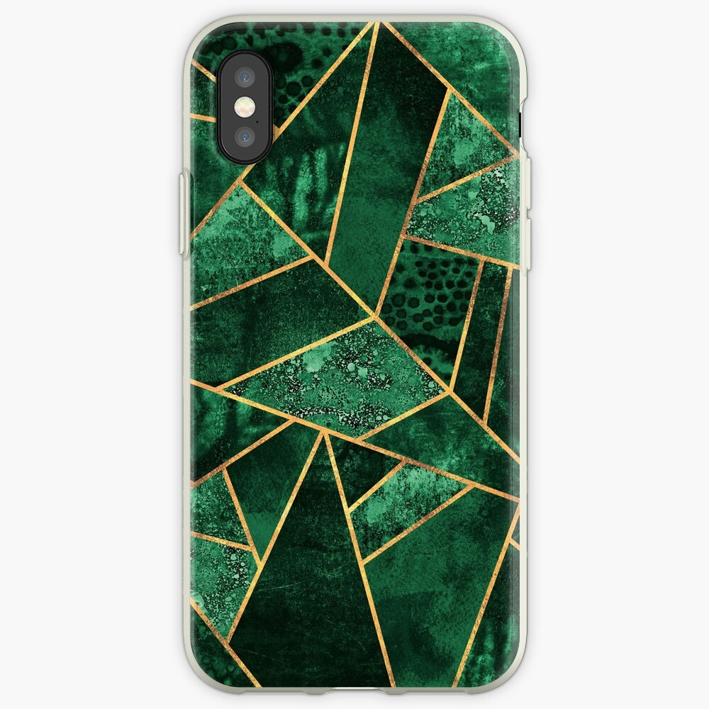 Deep Emerald iPhone Cases & Covers