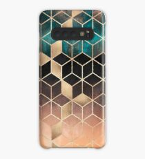 Ombre Dream Cubes Case/Skin for Samsung Galaxy