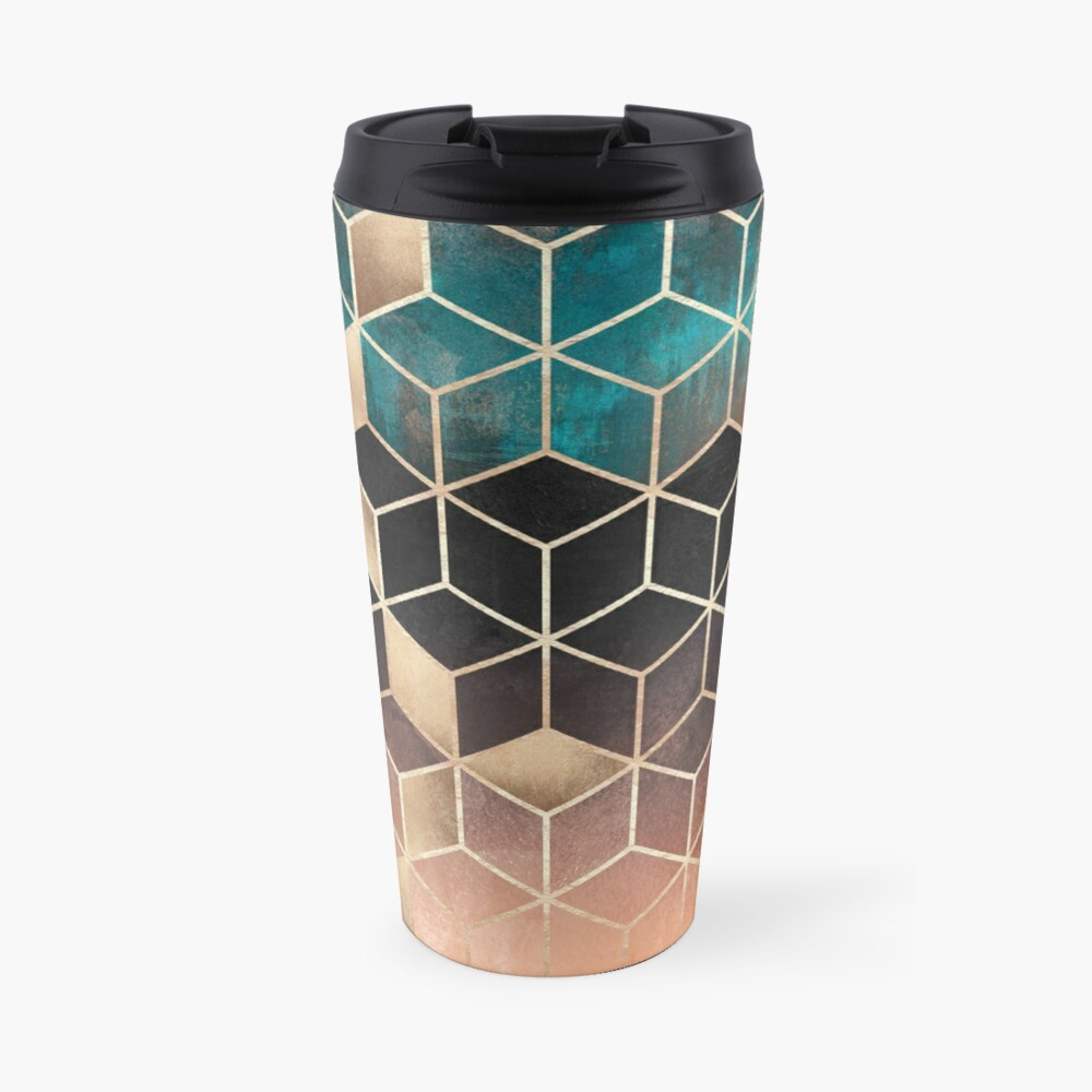 Omre Dream Cubes Taza de viaje
