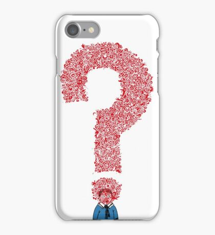 Question Boy iPhone Case/Skin