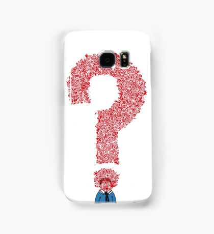 Question Boy Samsung Galaxy Case/Skin