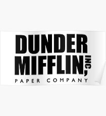 Dunder Mifflin, Inc Paper Company Poster