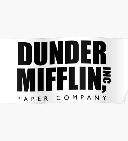 Dunder Mifflin, Inc Paper Company Poster