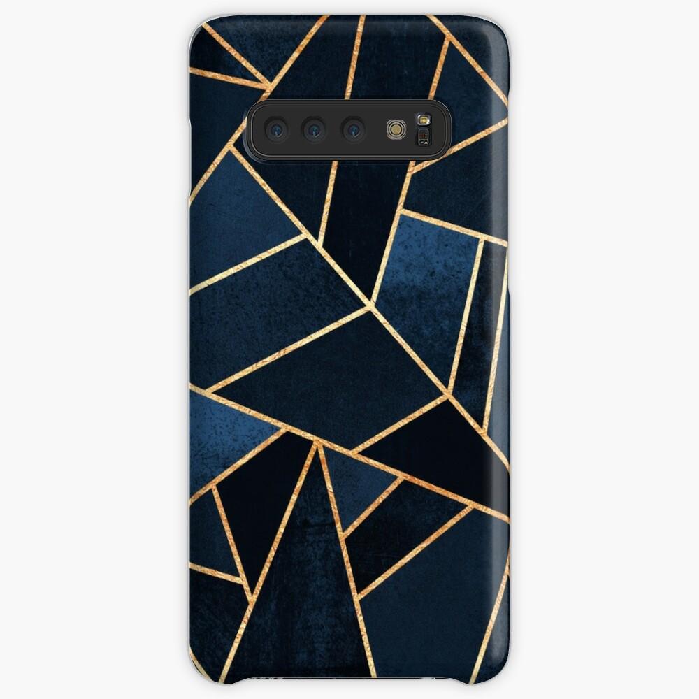 Navy Stone Case & Skin for Samsung Galaxy