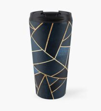 Navy Stone Travel Mug