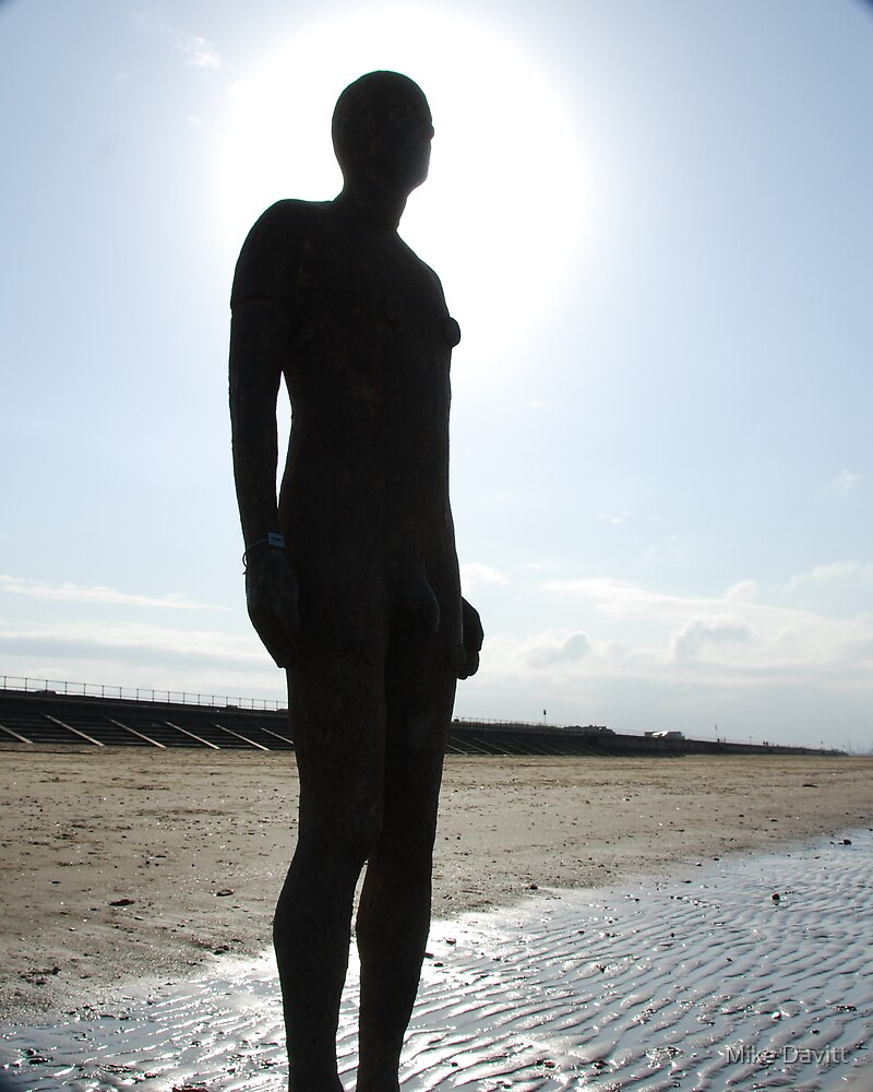 Antony Gormleys-another place by Mike Davitt