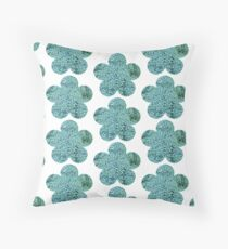 Green Broccoli Florets Floor Pillow