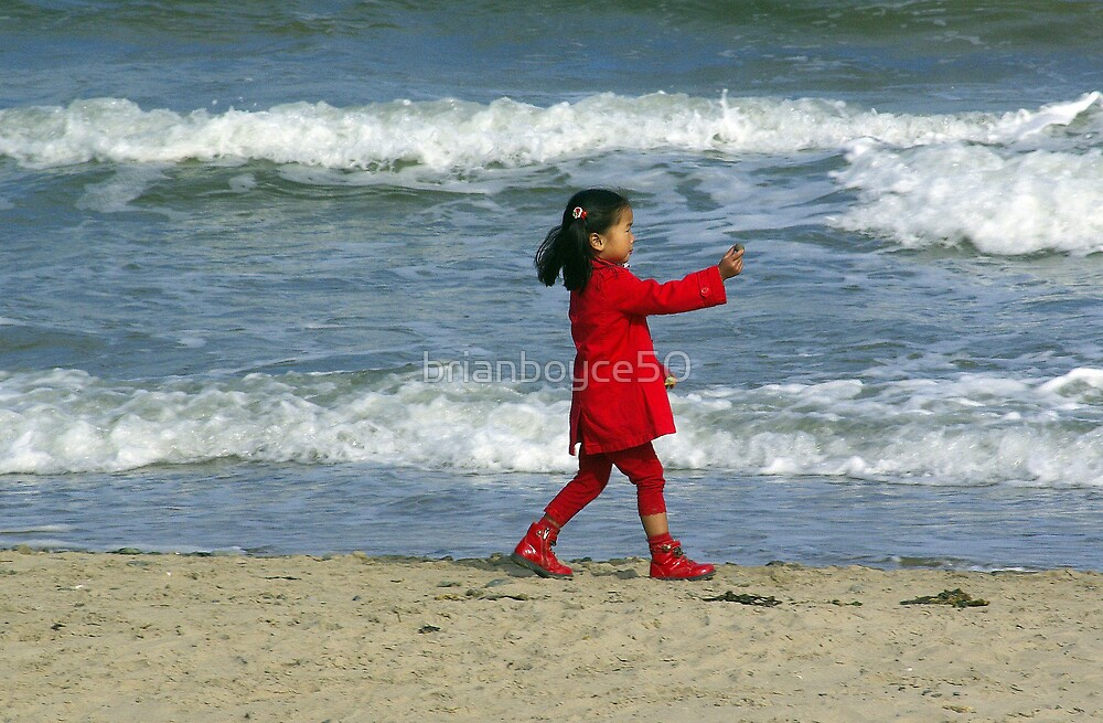 Young Lady In Red by brianboyce50