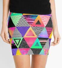 Schrullige Dreiecke Minirock