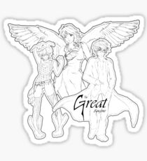 The Great Engine Series:: The Trio Sticker