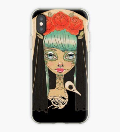 Luna Azul iPhone Case