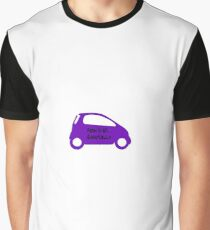 Smart Car ForTwo Purple Colour - From 0-60...Eventually Graphic T-Shirt