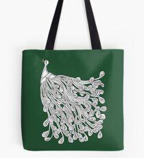 Peacock Design - Bird  Tote Bag