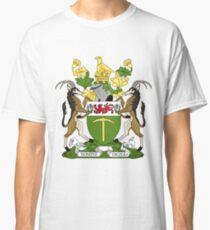 Camiseta clásica ESCUDO DE ARMAS DE RHODESIA