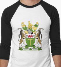 RHODESIA COAT OF ARMS Men's Baseball ¾ T-Shirt