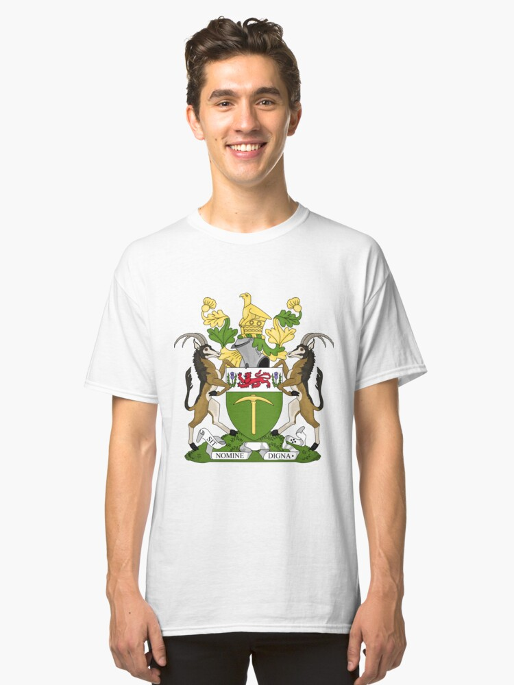 RHODESIA COAT OF ARMS Classic T-Shirt Front