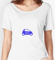 Smart Car ForTwo Blue Colour - From 0-60...Eventually Women's Relaxed Fit T-Shirt