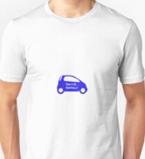 Smart Car ForTwo Blue Colour - From 0-60...Eventually Unisex T-Shirt