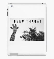 Deep throat ipad