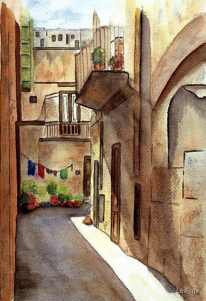 Sicilian Alley by LinFrye