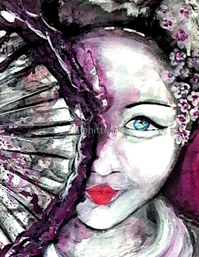 Geisha - Water Soul by whittyart
