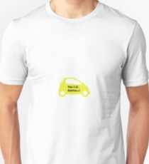 Smart Car ForTwo Yellow Colour - From 0-60...Eventually T-Shirt