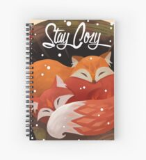 Stay Cozy Spiral Notebook