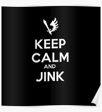 Keep Calm and Jink Dark Angels Ravenwing 2nd Company Poster