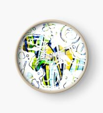 Dino Sticker Clock