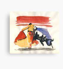 Torro & Torrero 2 Canvas Print